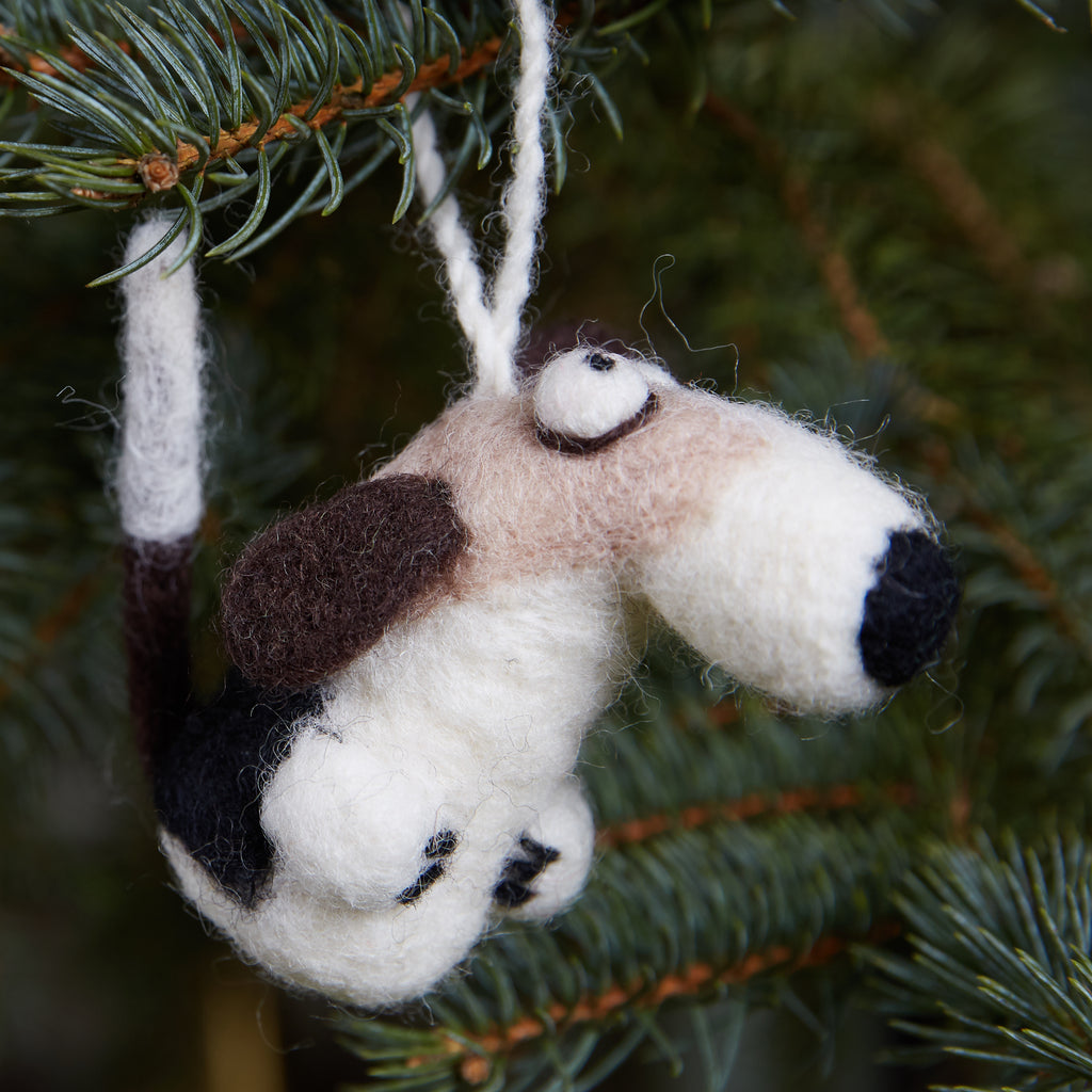 Dog Woolie Ornament