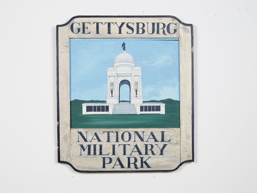 Gettysburg National Military Park, with PA Monument Americana Art