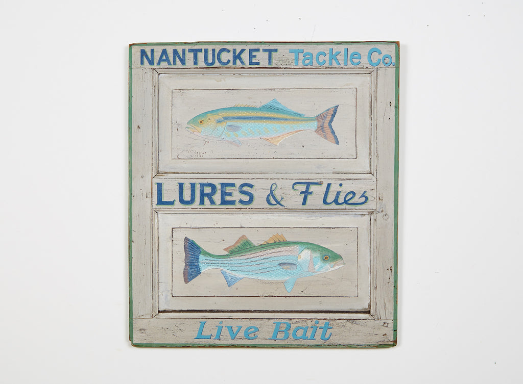 Nantucket Tackle Co. Americana Art