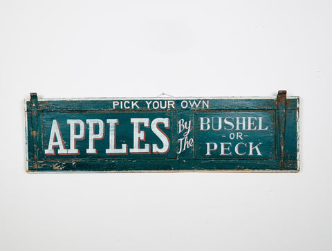 Apples by the Peck or Bushel Americana Art