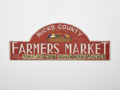 Bucks County Farmers Market Americana Art