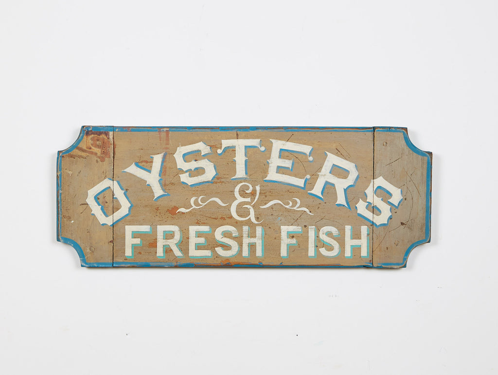 Oysters and Fresh Fish (A) Americana Art