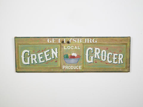 Gettysburg Green Grocer Local Produce Americana Art