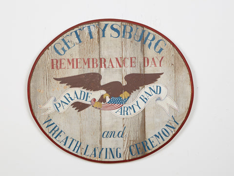 Gettysburg Remembrance Day Americana Art