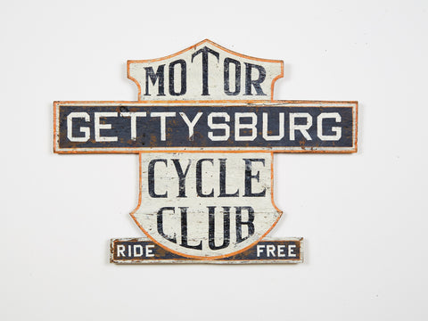 Gettysburg Motorcycle Club, Ride Free Americana Art