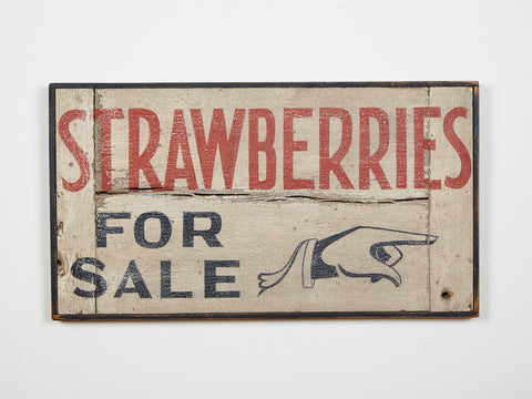 Strawberries for Sale Americana Art