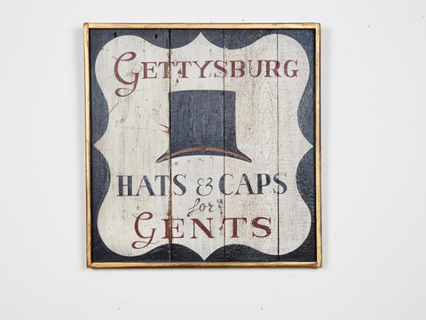 Gettysburg Hats for Gents Americana Art