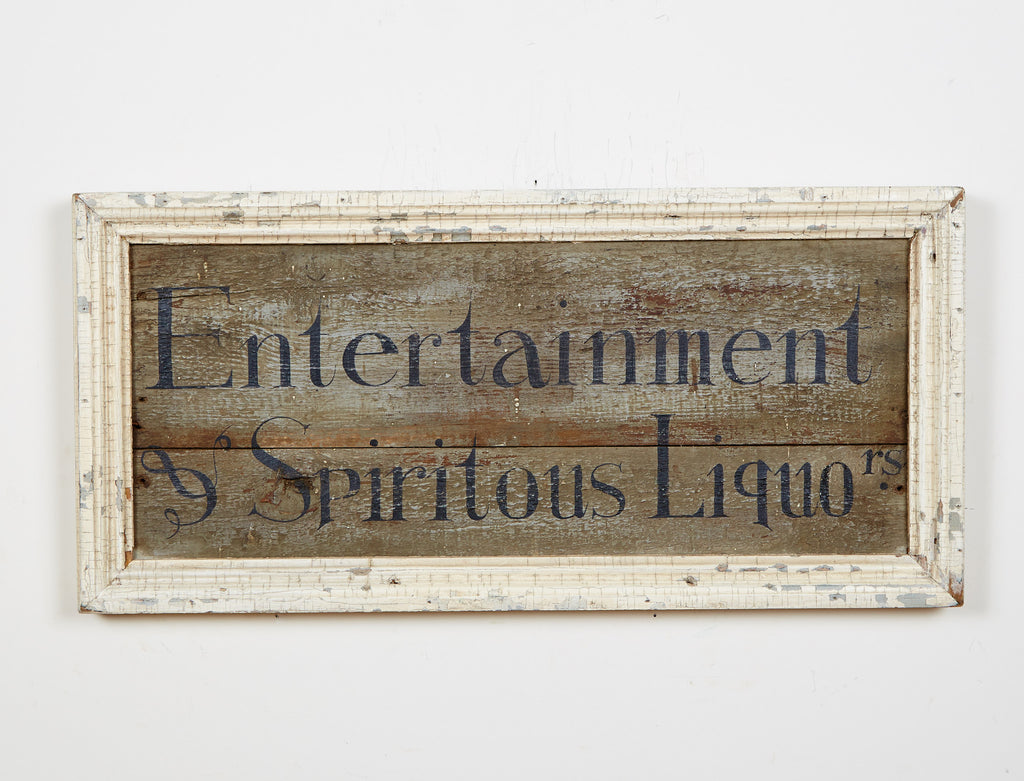 Entertainment and Spiritous Liquor Americana Art