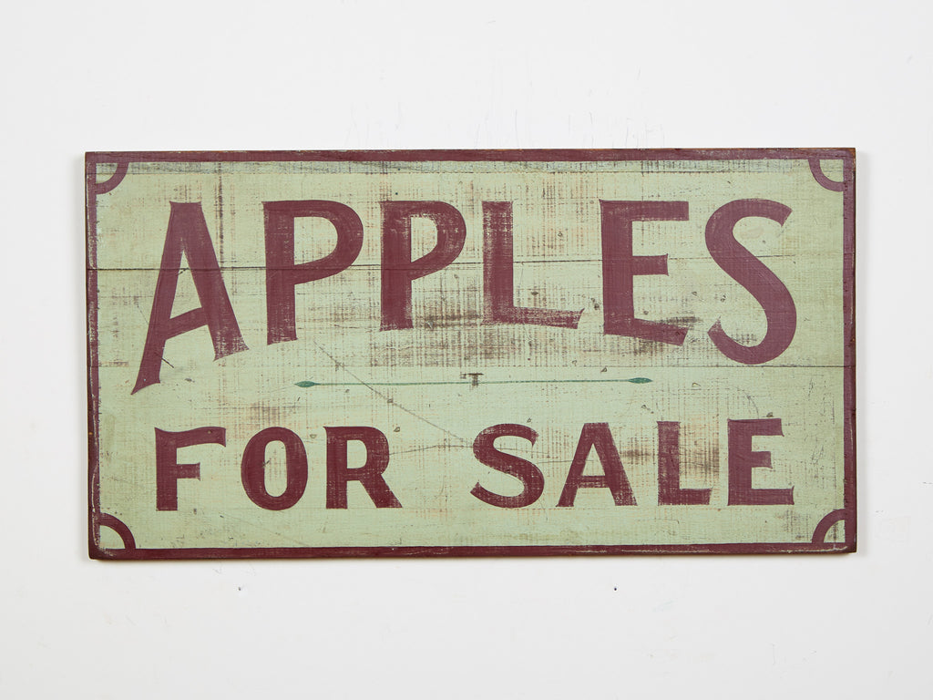 Apples for Sale Americana Art