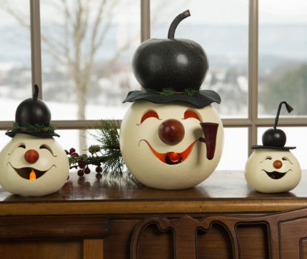 Walter Snowman Head Gourd Available In Multiple Sizes Gallery 30