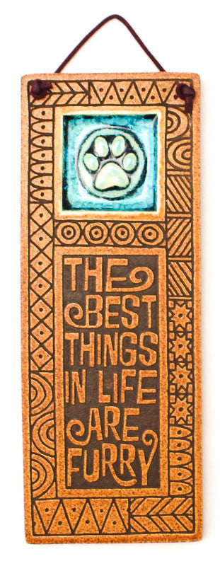 Best Things Furry Glass and Ceramic Tile