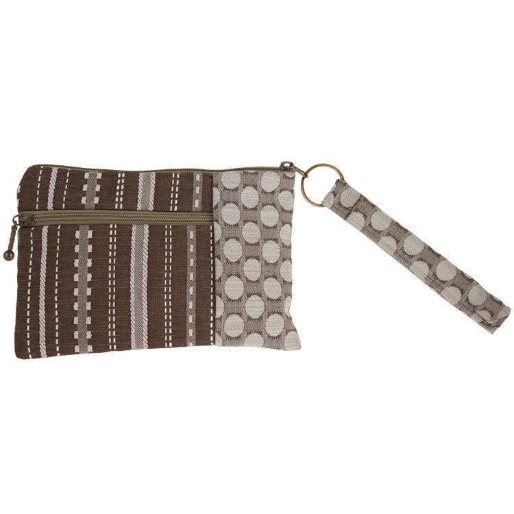 Maruca Beetle Wristlet in Ticking