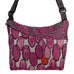 Maruca Cottage Bag in Raspberry Drops