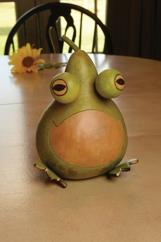 Jesse The Frog Gourd
