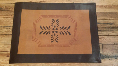 "Bump Tavern Rectangle in Antique - Size 24"" x 36"""