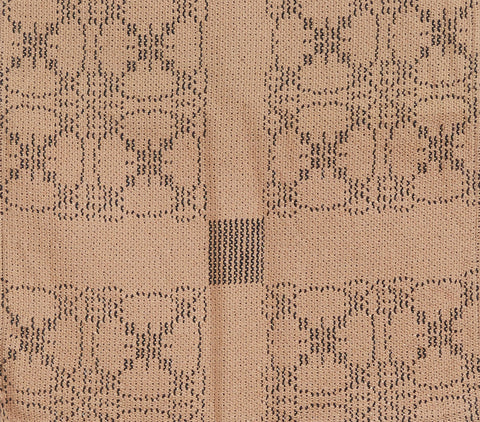 Carriage Wheel Placemats in Tan and Black