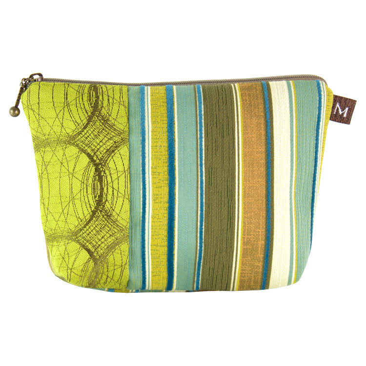 Maruca Cosmetic Bag in Mod Stripe