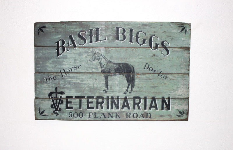 Basil Biggs, Veterinarian Americana Art