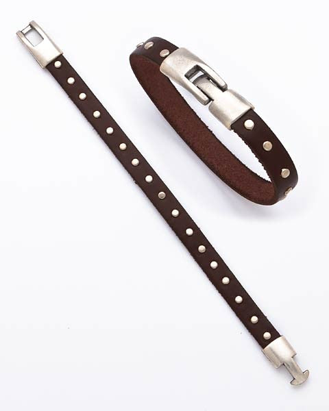 Do It All Leather Bracelet