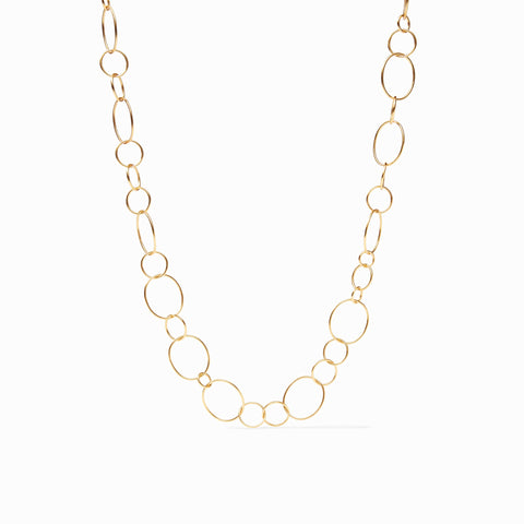 Colette Necklace Gold by Julie Vos