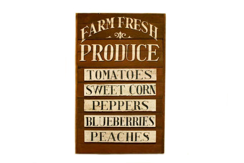 Farm Fresh Produce Americana Art