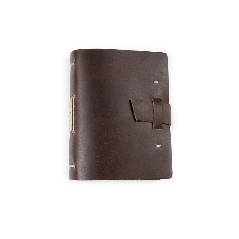 Leather Good Book Journal with Buckle - Available in Multiple Colors