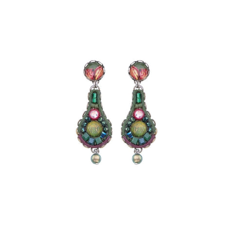 Summer Lawns Tripta Earrings by Ayala Bar