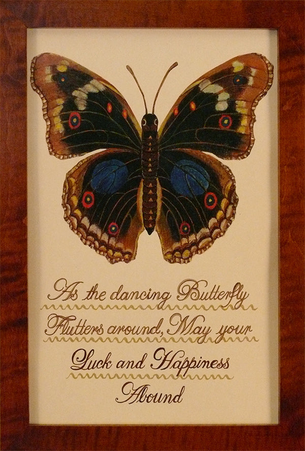 As the Dancing Butterfly by Susan Daul