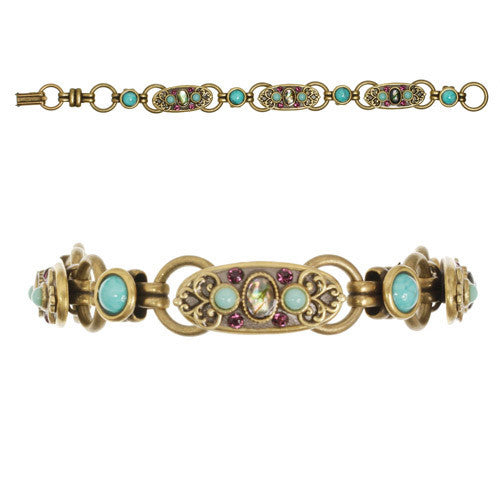 Turkish Bazaar Three Oval Bracelet by Michal Golan