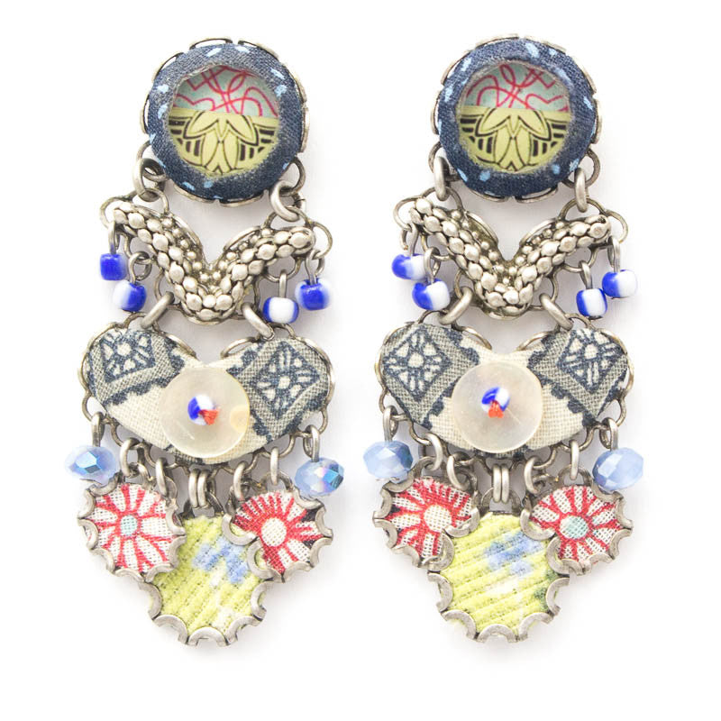 Forest Hills Medium Hip Collection Earrings by Ayala Bar