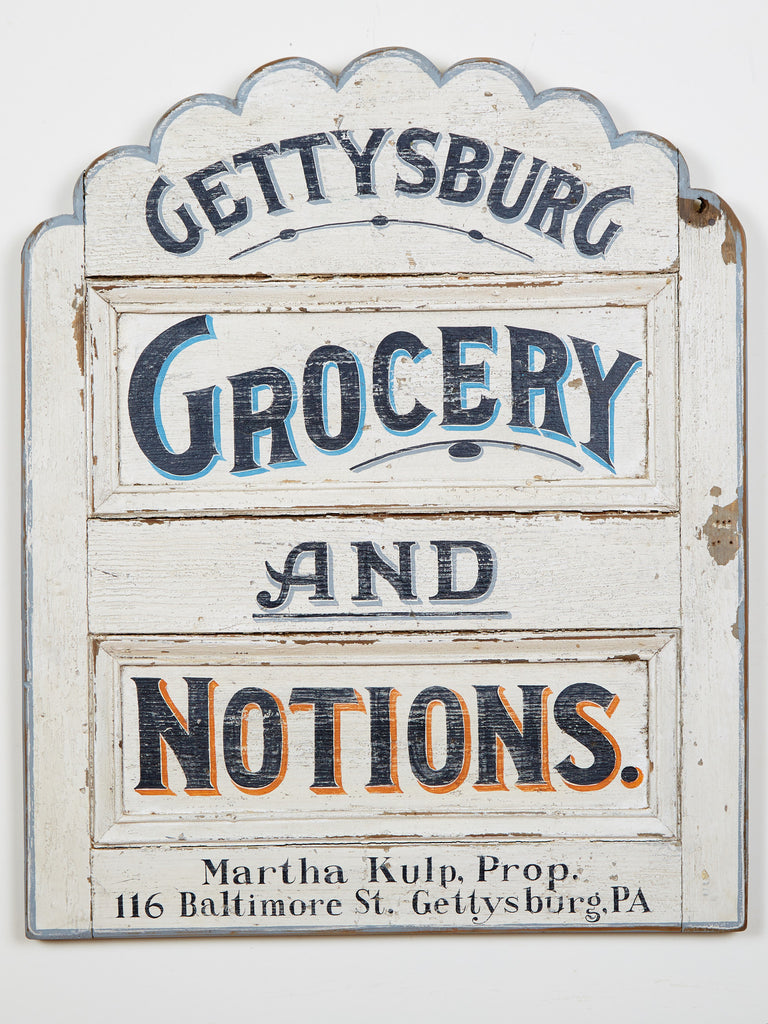 Gettysburg Grocery and Notions Americana Art