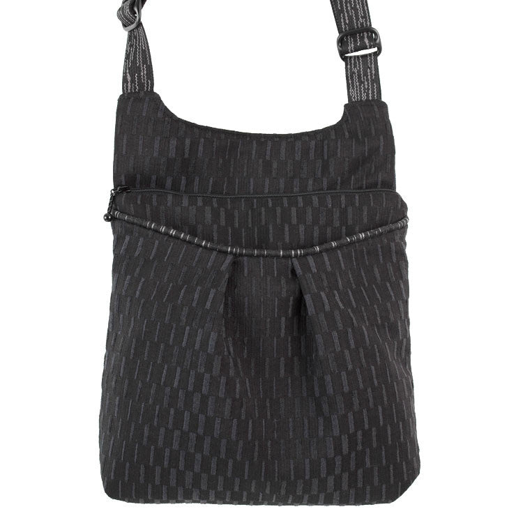 Maruca Busy Body Handbag in Basket Black