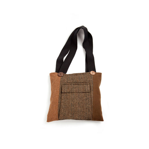 Wool Tote in Fall