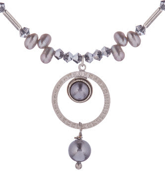 Pearl Of The Quarter Necklace by Wanna Buy A Watch?