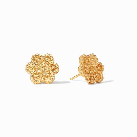 Colette Stud Earrings Gold by Julie Vos