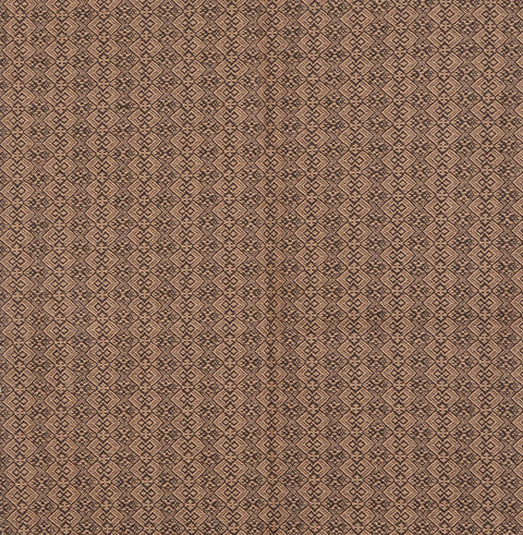 Jacob's Cross Long Table Runner in Brown with Tan