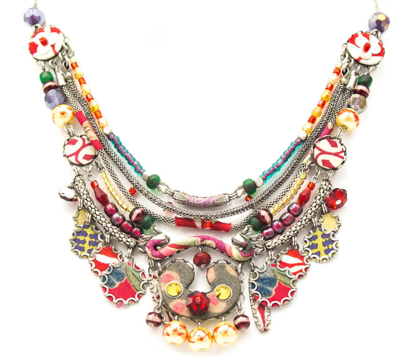 Scarlet Tango Hip Collection Necklace by Ayala Bar