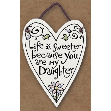 Life Is Sweeter Charmer Ceramic Tile
