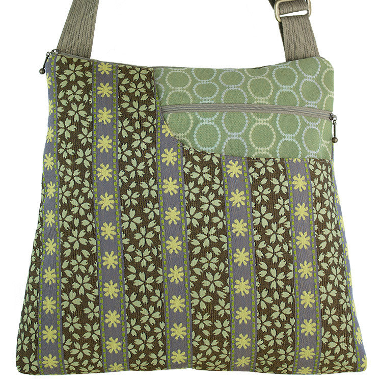 Maruca Worker Bee Handbag in Trellis Garden