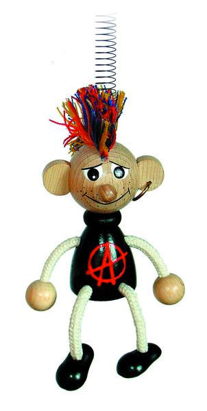 Atom Punk Handcrafted Wooden Jumpie