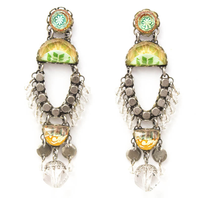 Shimmering Pine Radiance Collection Earrings by Ayala Bar