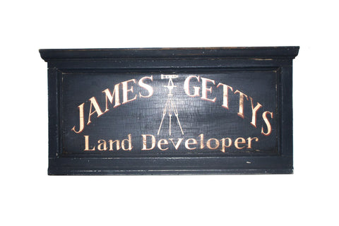 James Gettys, Land Developer Americana Art