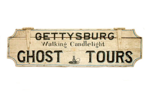 Gettysburg Ghost Tours in White (A) Americana Art