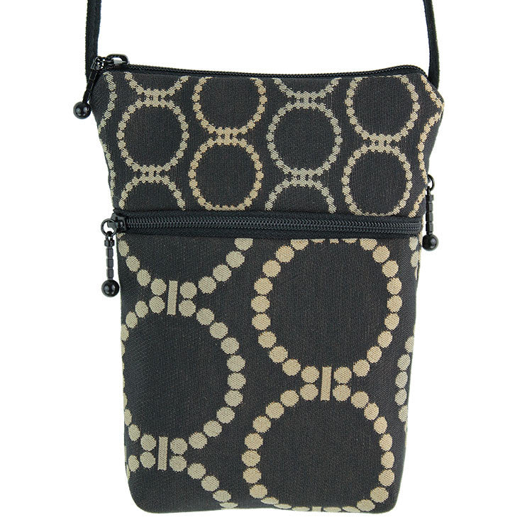 Maruca Sprout Handbag in Linked Black