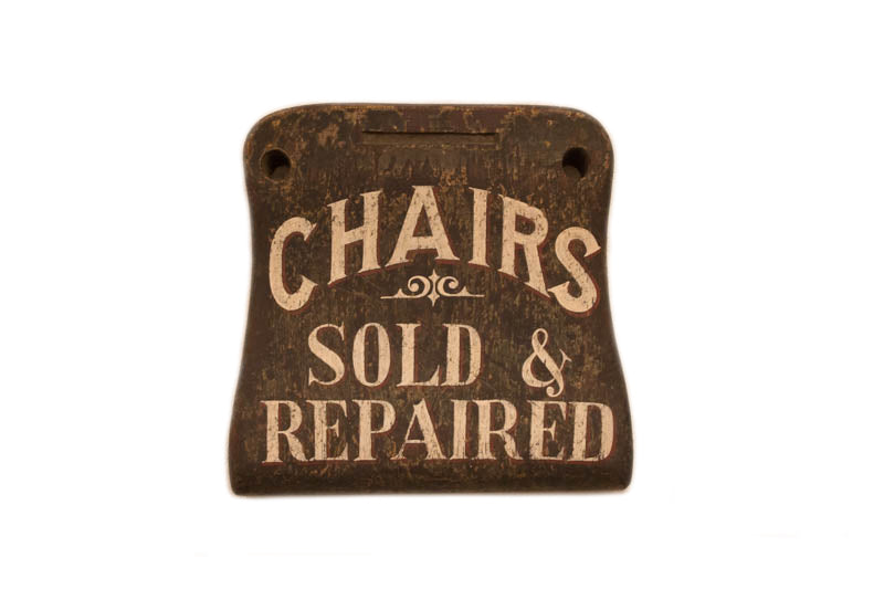 Chairs Sold and Repaired (A) Americana Art