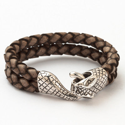 Fierce Leather Bracelet