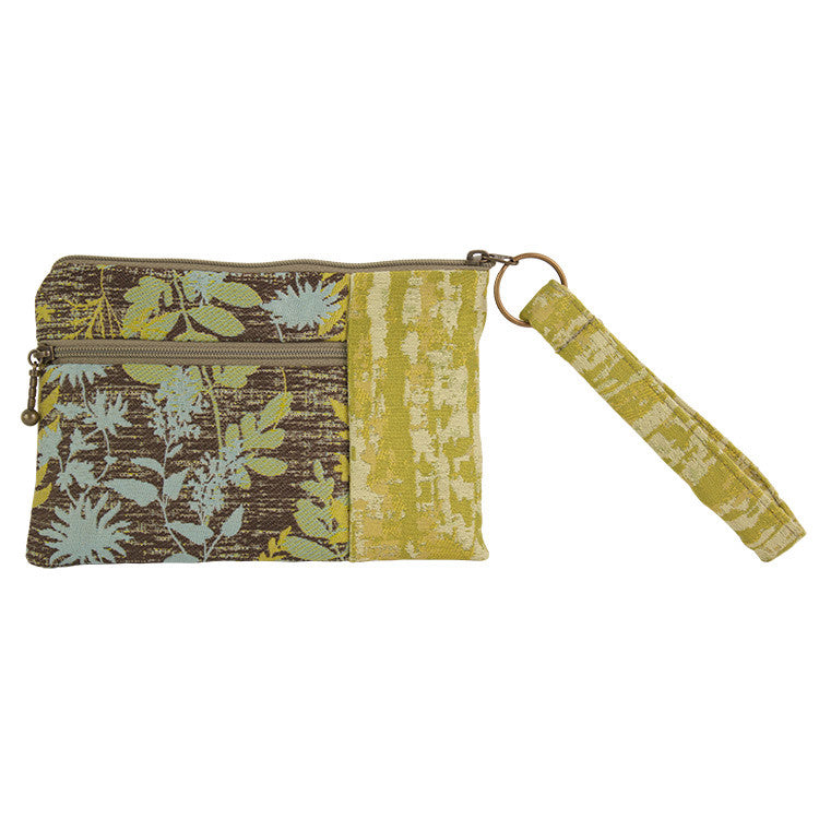 Maruca Beetle Wristlet in Fern Cool