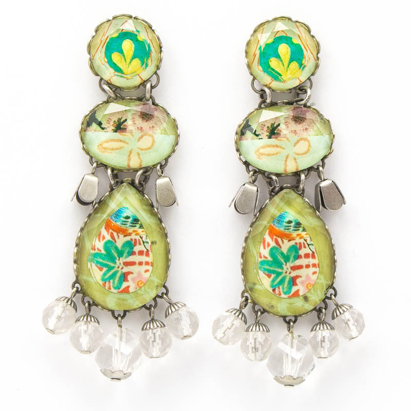 Country Hillside Radiance Collection Earrings by Ayala Bar