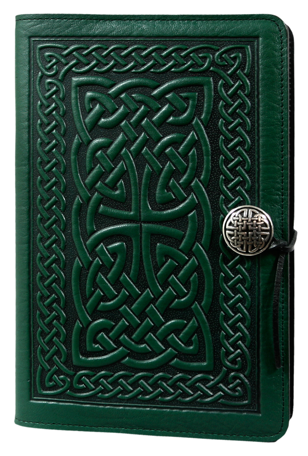 Celtic Braid Large Journal in Green