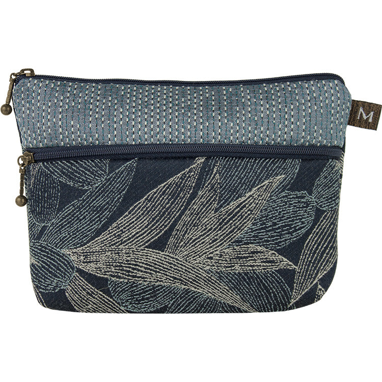 Maruca Cosmetic Bag in Kelp Navy